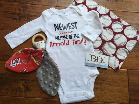 baby shower gift gender neutral baby personalized bodysuit custom