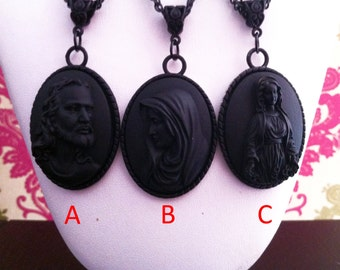 Necklace Jesus Maria Madonna