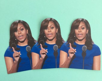 Michelle Obama Inspired Sticker Set