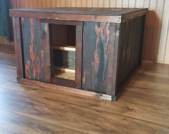 Kitty Litter Box Cover Cabinet- litter box cover