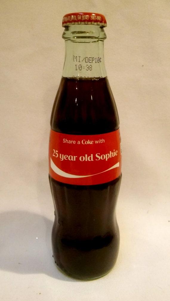 Personalized Coca Cola Birthday Card By InNonnasKitchen On