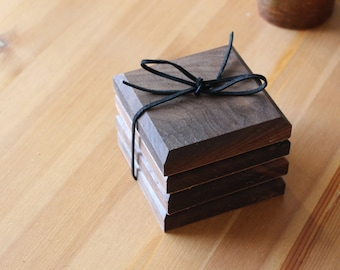 Walnut Coasters