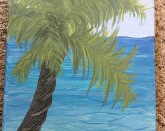 Palm Tree Original Painting