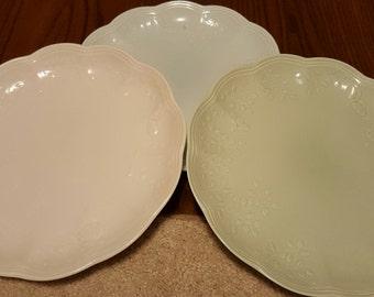 Lenox Butterfly Meadow plates set of 3