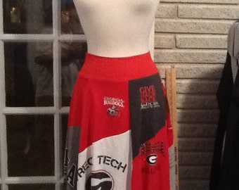 UGA skirt for college girls!!!!   Go Go Dawgs!!!