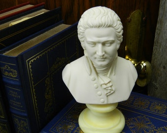 Vintage Mid Century Mozart Bust - A. Gionnelli - Italy