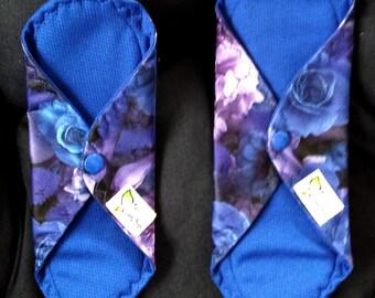 Mama Cloth - Blue Roses