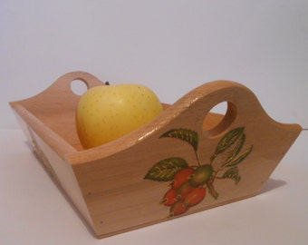 Wooden Serving Tray. Home Decor.