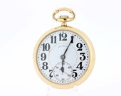 Illinois Pocket Watch Bunn Special 21 jewel Gold Filled