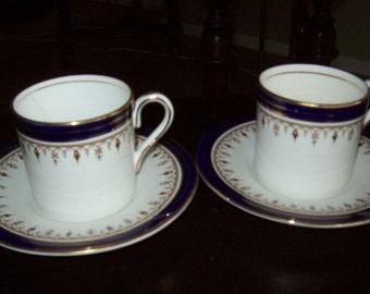 Vintage  Aynsley Demitasse     Aynsley Made in England # 1646 Leighton