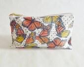 Monarch Butterfly Pencil Case