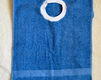 Blue//Purple//OR//Green Towel Bib
