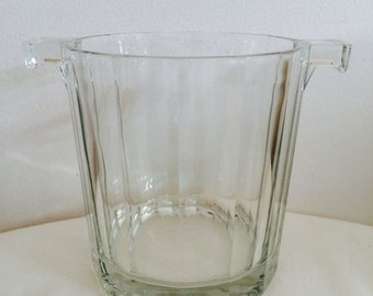 SALE 20% OFF Ice Bucket Glass for a retro bar