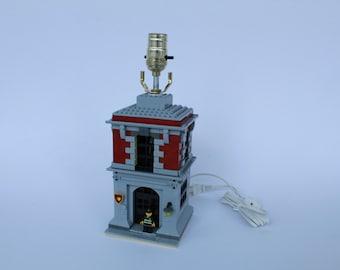 Kids Bedroom Lamp firefighter lamp | etsy