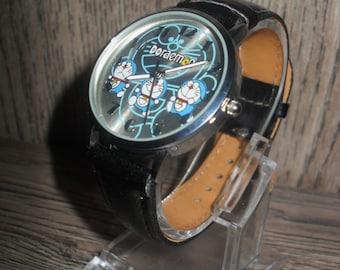 Doraemon clock