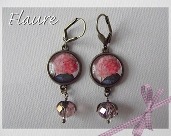 Earrings' 'Hydrangea'