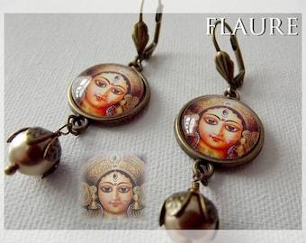"Earrings '' Hindu Woman """
