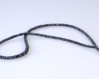 Exclusive Blue Sapphire Necklace.FREE SHIPPING !