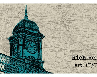 Richmond Train Station Print