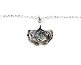 Ginkgo Bracelet Ginkgo Jewelry Ginkgo Leaf Bracelet Ginkgo Leaf Jewelry Nature Lovers Bracelet Ginkgo Biloba Herbalism Bracelet Herbalist