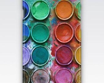 Case for iPhone 8, iPhone 6s,  iPhone 6 Plus,  iPhone 5s,  iPhone SE,  iPhone 5c,  iPhone 7  - Artist Paint Palette Design iPhone