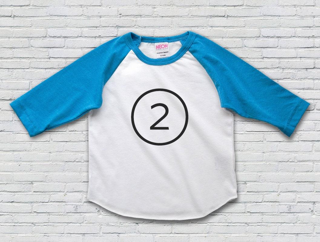 2nd Birthday Shirt Second Girl Oufit Boy