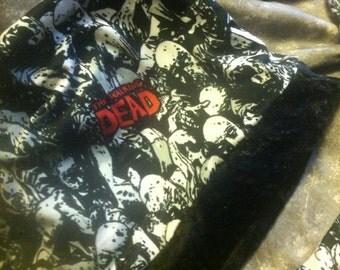 Zombie Hoard Skull Cap and Fingerless Glove Set