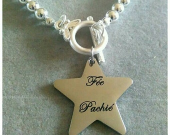 Silver fairy bracelet Pachie