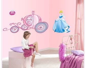 Cinderella Wall Decal - AW5081