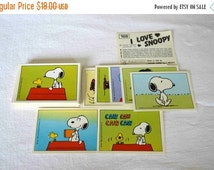 HALLOWEEN 1986 Panini I love SNOOPY  stickers / Very Rare / lot of 15