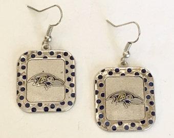 Baltimore Ravens Earrings