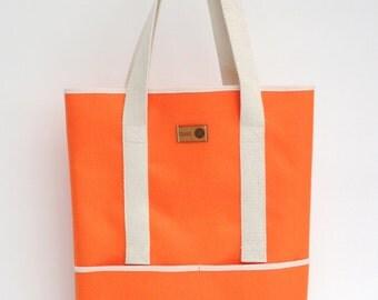 Orange Shopper Two-Way