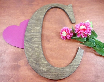 Rustic Wood Letters Large Uppercase Letter Wedding Signs Signature Letters Guest Book Alternatives Baby Name Letters Home Decor Photo Prop