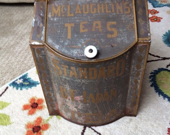McLaughlins Teas Standard B.F. Japan Teas General Store Tin