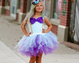 Inspired Ever After High Madeline Hatter Hat Tastic Doll Girls Tutu Dress