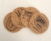 Gilmore Girls Themed Cork Coaster - Set of 4