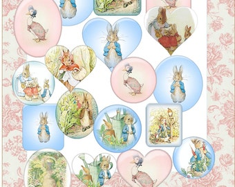 Instant Download Jemima Puddle-Duck Peter Rabbit Images