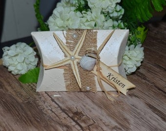 Set 10 Gift Boxes Wedding Favor Boxes Beach