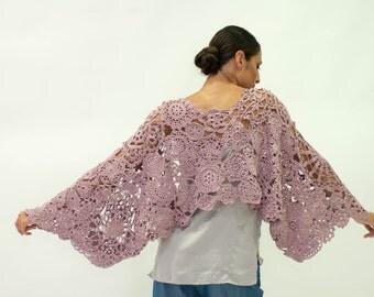 bolero elaborado en seda y algodón / jacket madre of silk & cotton