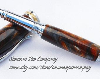Triton Molten Metal Lava Rollerball pen