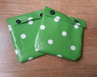 Set of 2 Reusable sandwich bags.