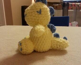 Crochet Stuffed Dino Pattern