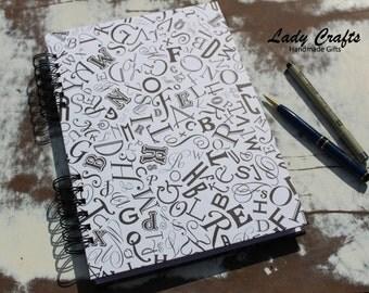Alphabet Soup Journal/Notebook