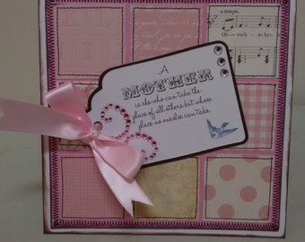Handmade 'Mother' Card
