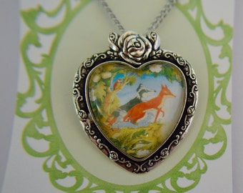 The Animals of Farthing Wood Necklace