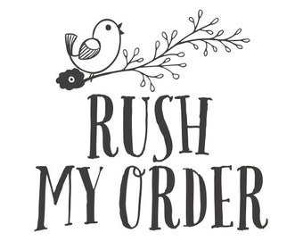 Rush order, fast track order, front of production, fast shipping, UK, Europe, Australia, USA, Canada, New Zealand, UAE, Hong Kong, Singapore