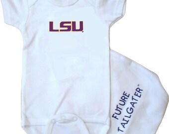 LSU Tigers Future Tailgater Baby Bodysuit