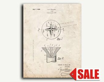 Patent Print - Screw Patent Wall Art Poster
