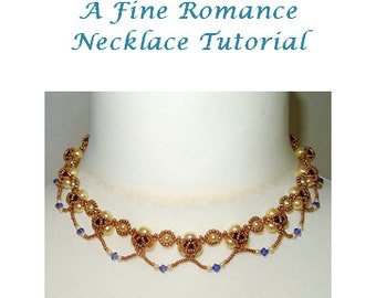 A Fine Romance Necklace Tutorial
