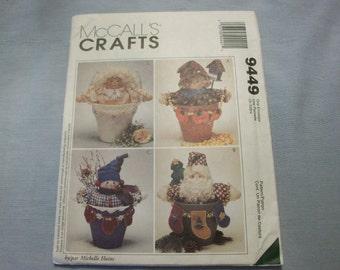 McCall's Craft Pattern #9449 Flower Pot People by Michelle Hains - Uncut Uncut.